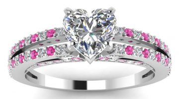 Top 6 Highest Quality Heart Shaped Design Diamond Rings