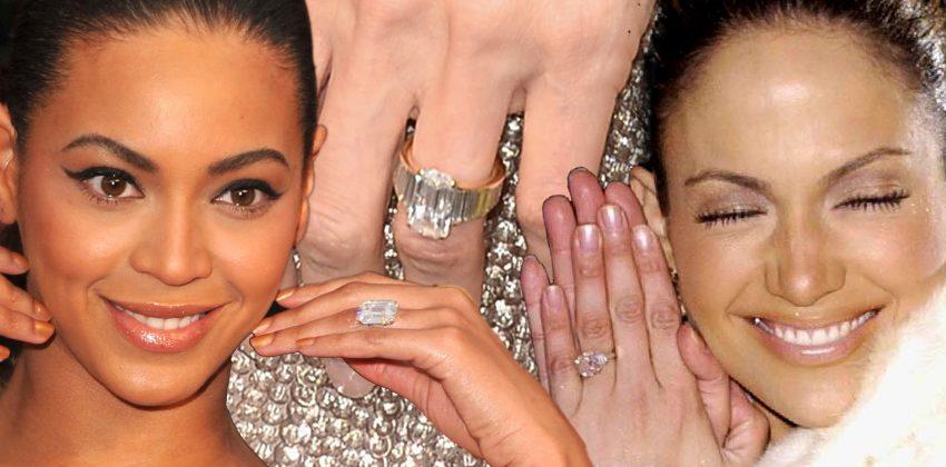 9 Crazy Celeb Engagement Rings